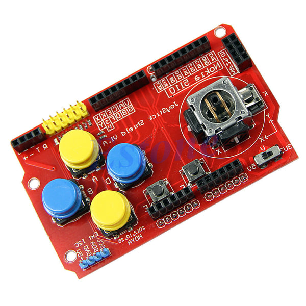 Joystick Pad Keypad Shield PS2 Game pads for Arduino Raspberry Pi