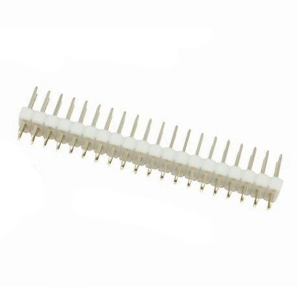 Colour Male 40 Pin (2x20) 2.54mm Header for Raspberry Pi Zero + Reset/TV Pins