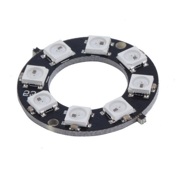 NeoPixel Ring - 8 x WS2812 5050 RGB LED Ring Board for Arduino Raspberry Pi