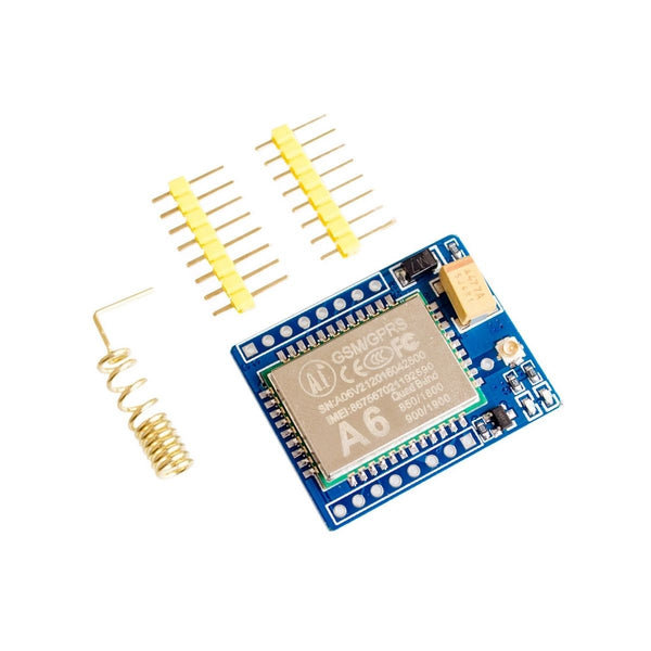 A6 Mini GPRS GSM Wireless Extension Module Board Antenna Tested Kit for SIM800L