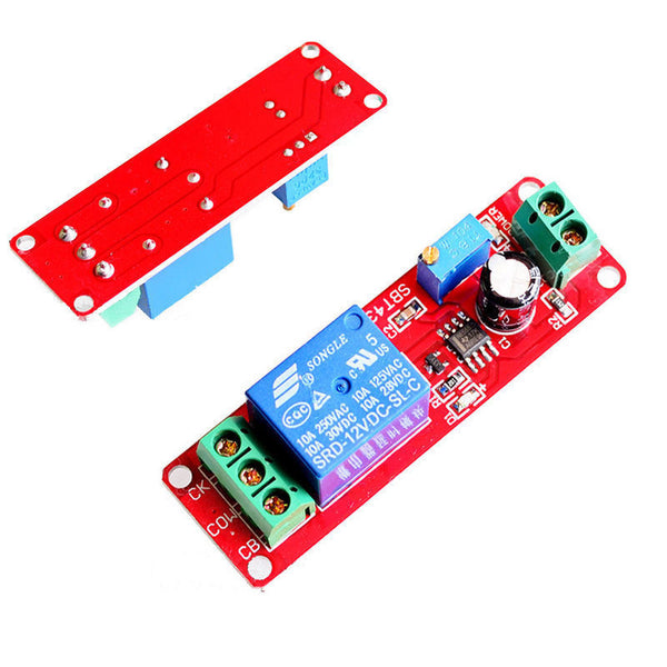 NE555 DC 12V DIGITAL DELAY TIMER RELAY WITH MODULE ADJUSTABLE