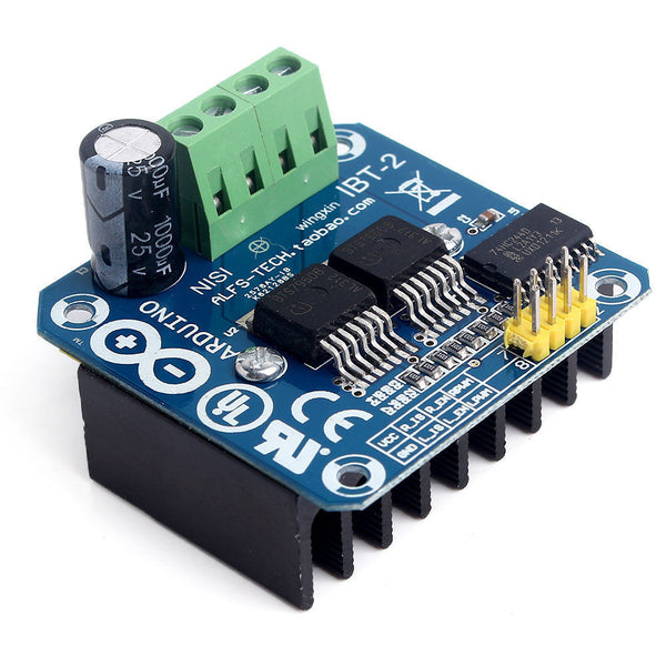 High Power Motor Driver Module BTS7960B 43A Arduino Intelligent Vehicle Robot