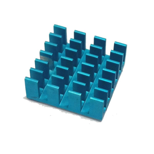 2 x COLOURED Quality Heatsinks with Thermal Adhesive for Raspberry Pi
