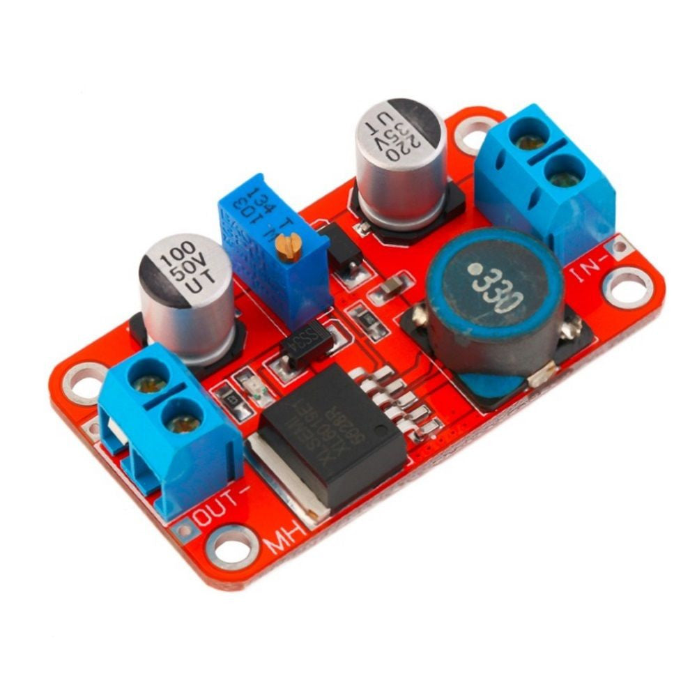XL6019 LM2577 5A DC-DC Step Up Adjustable Boost Power Supply Board Module