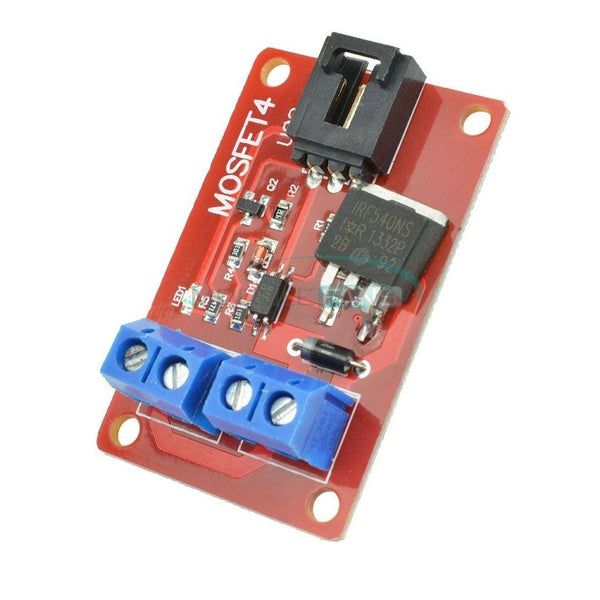 1 Channel 1 Route MOSFET Button IRF540 + MOSFET Switch Module for Arduino  Pi