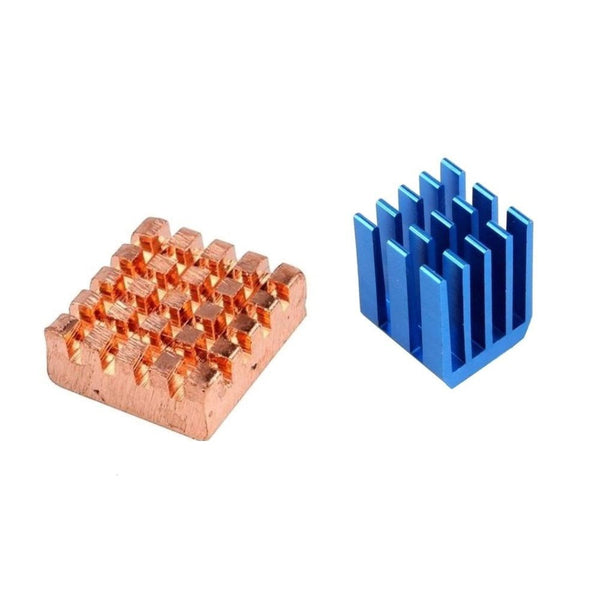 Aluminium Copper Heatsink set for ALL Raspberry Pi Models 3 2 B+ 1 / 2 / 3 sets
