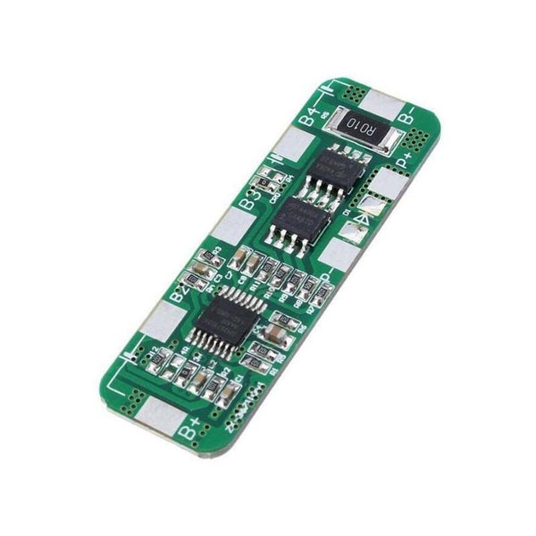 4A-5A PCB BMS Protection Board for 4 Packs 18650 Li-ion lithium Battery Cell