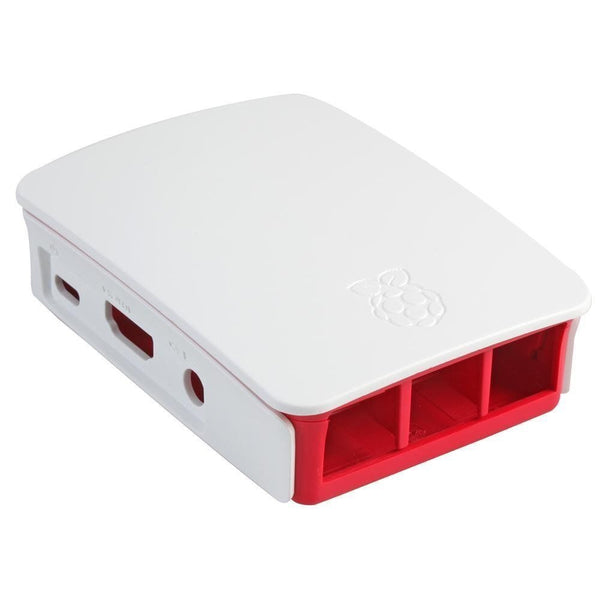 Official Raspberry Pi 3 Case - White/Red