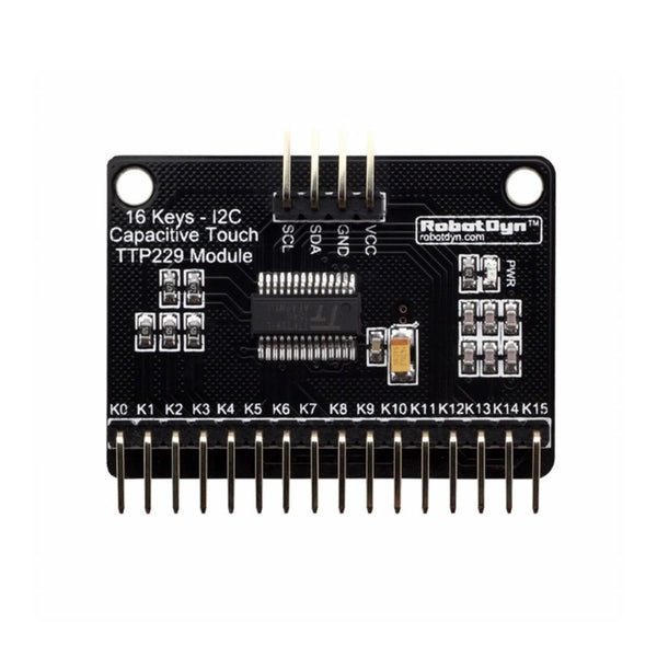 16 Keys Capacitive Touch TTP229 Module I2C for Arduino