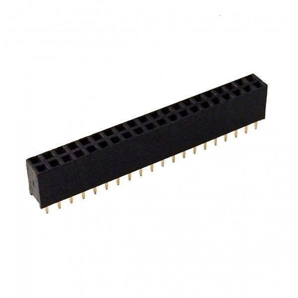 40 Pin GPIO 2x20 Female Header 2.54mm for Raspberry Pi Zero