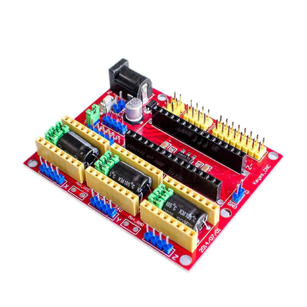 CNC Shield V4 3D Printer A4988 DRV8825 3-Axis Stepper Driver Board Arduino