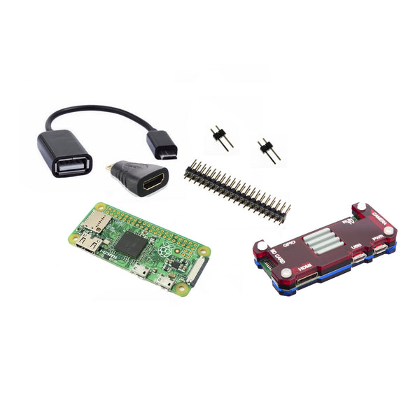 Raspberry Pi ZERO v1.3 LATEST MODEL + Essentials Kit + FREE CASE