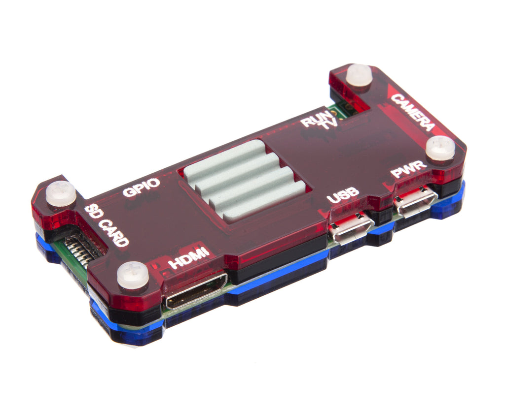 Raspberry Pi Zero Case with Ceramic Heatsink - MIX-I