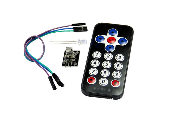 38KHz Infrared IR Wireless Remote Control  Receiver Module Kit for Arduino Pi