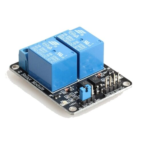 2 Two Channel 5v Relay Module Board LED For Arduino PIC ARM DSP AVR Electronic