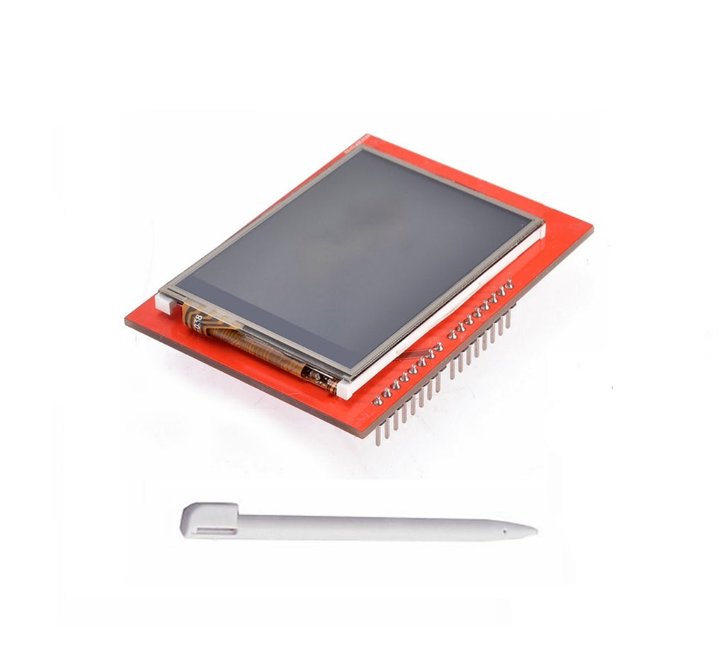 "2.4 Inch 2.4"" TFT LCD Screen Touch Panel Module TF Micro SD For Pi  Arduino PEN"