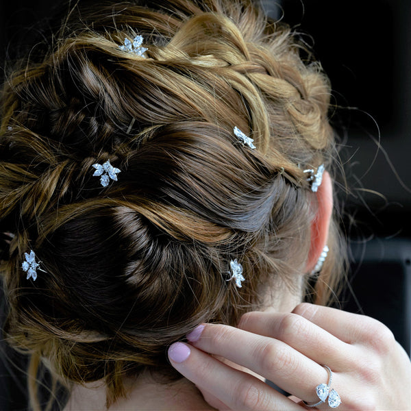 BRIDAL HAIR PINS (SET OF 3)
