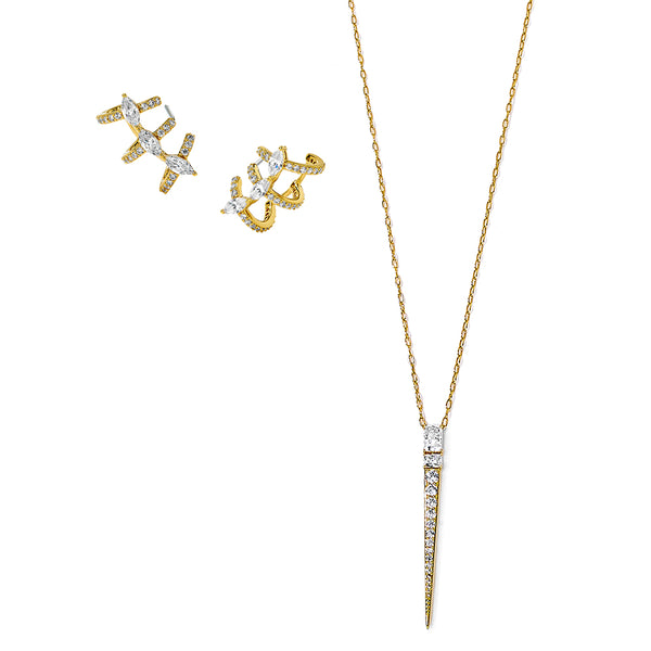 RAE NECKLACE AND EARRINGS GIFT SET