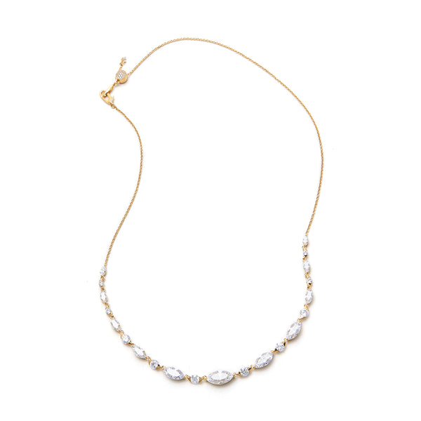 BRIDAL ADJUSTABLE FRONTAL NECKLACE