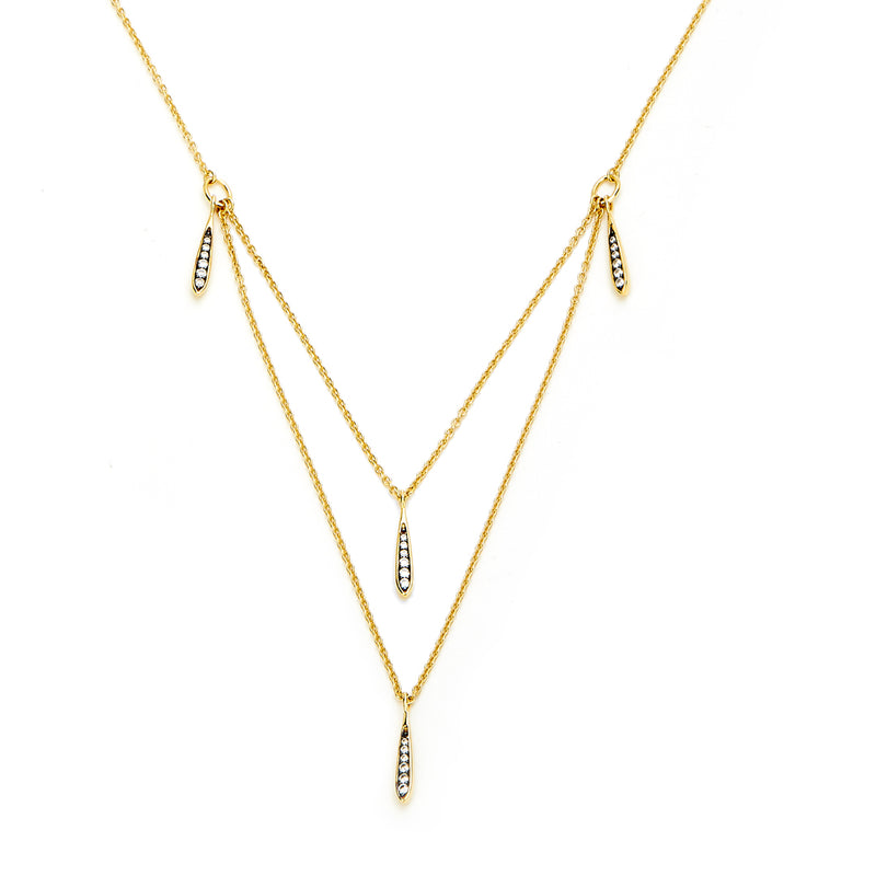 FERRARA LAYERED SHAKY NECKLACE