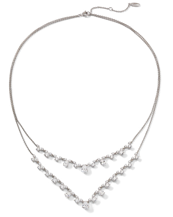LAVANDE LAYERED NECKLACE