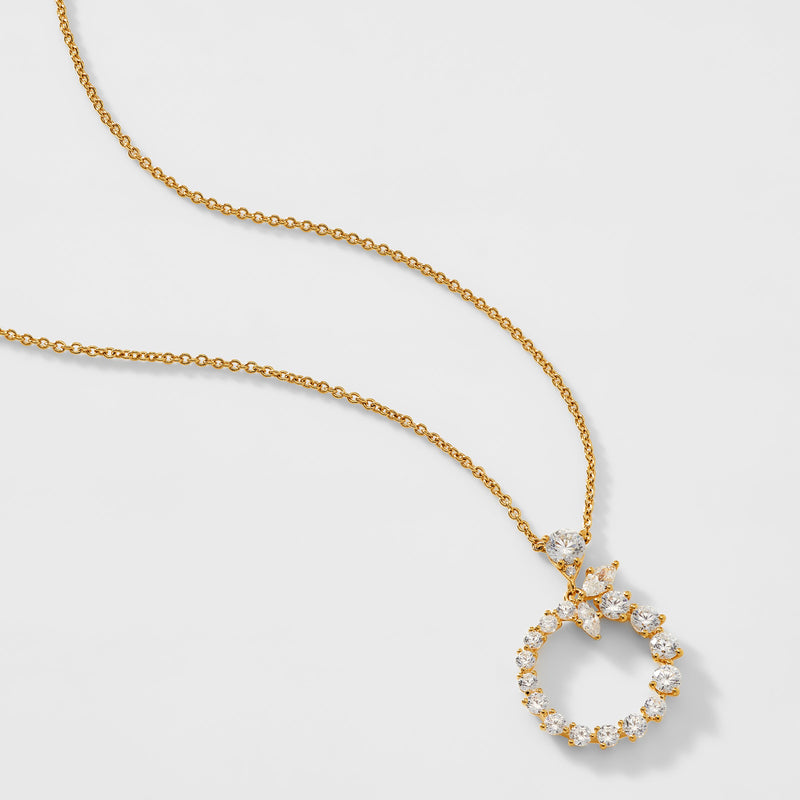 LEAH CLUSTER NECKLACE