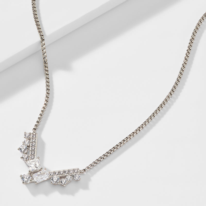 ENCORE MIXED STONE CZ NECKLACE
