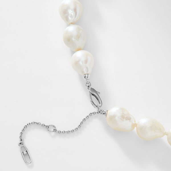 BOHEME PEARL COLLAR NECKLACE