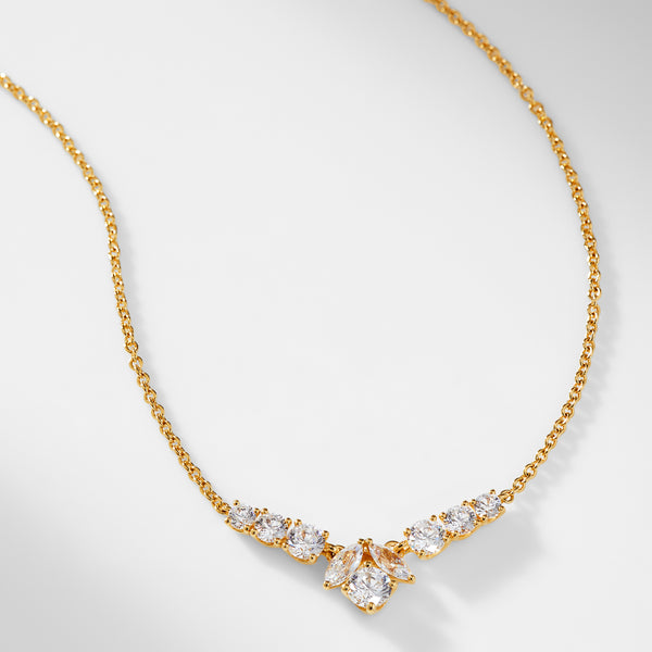 PRIMA CZ SMALL FRONTAL NECKLACE