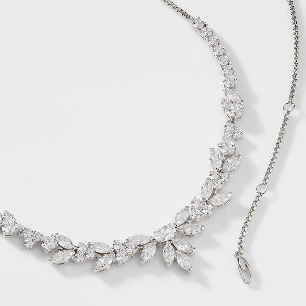 PRIMA CZ LARGE FRONTAL NECKLACE