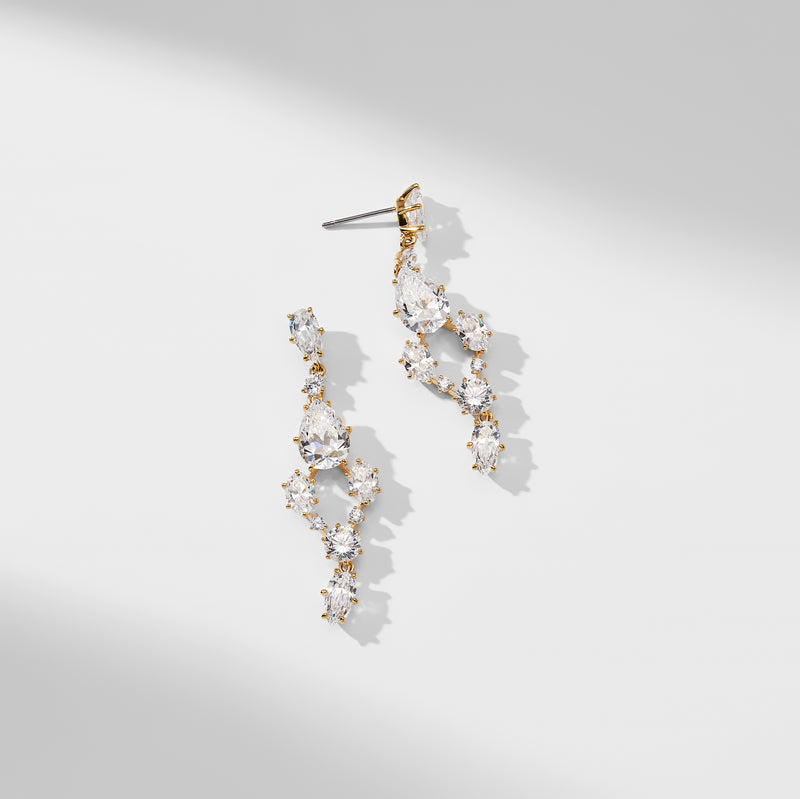 FROLIC MIXED DROP EARRINGS