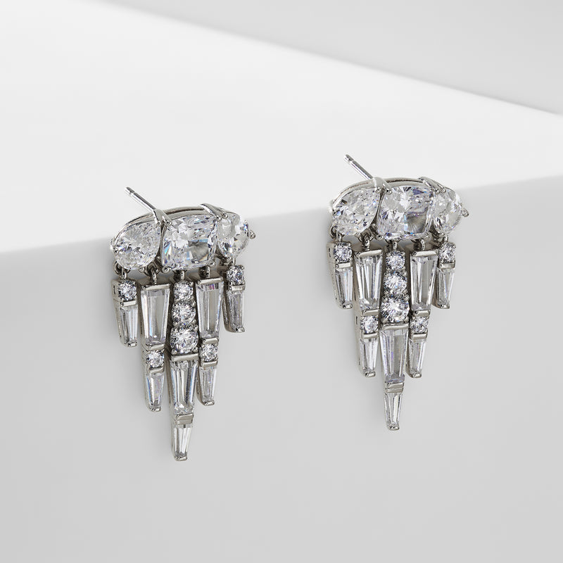 DELUXE SMALL CHANDELIER EARRINGS