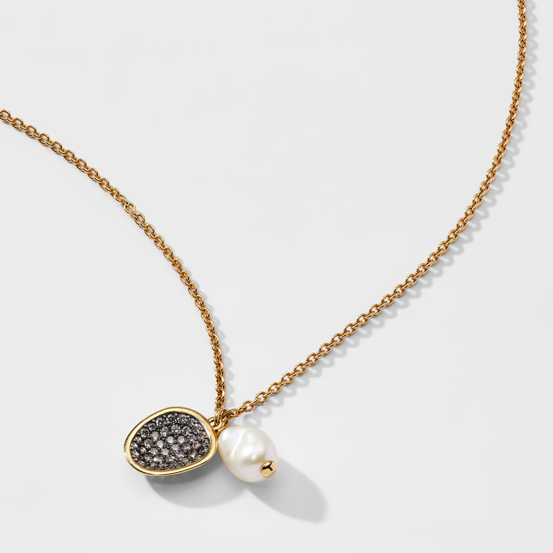 CAPRI PEARL PENDANT NECKLACE