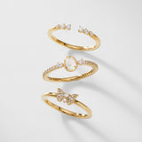VANESSA TRIO RING SET