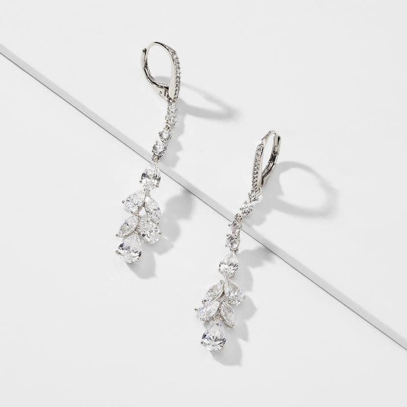 LEILANI LINEAR DROP EARRINGS