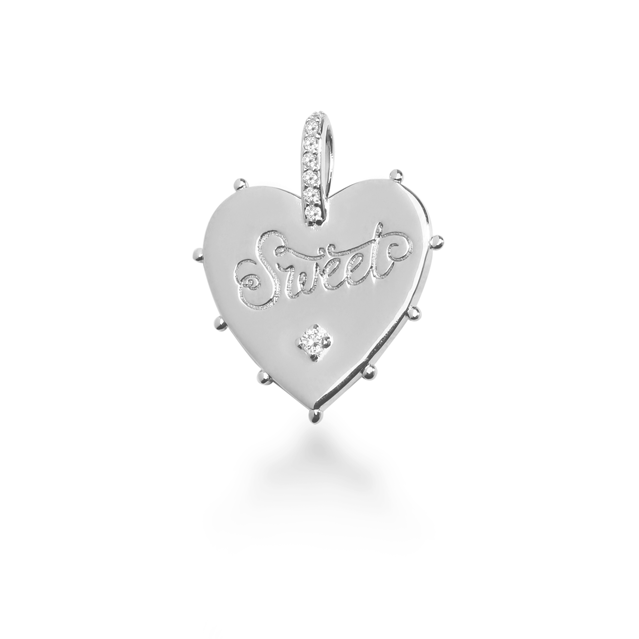 "VALENTINE'S DAY ""SWEETHEART"" CHARM"