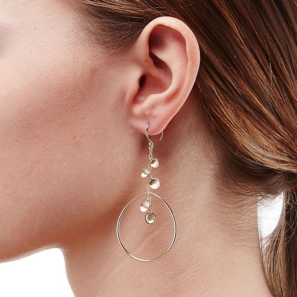 SIRENA FRONTAL HOOP EARRINGS