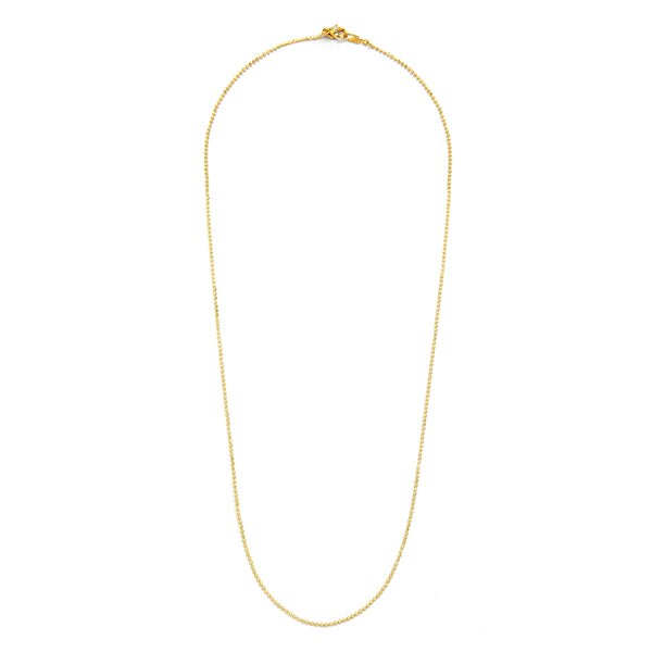 "1.2MM BEAD CHAIN 20"" NECKLACE"