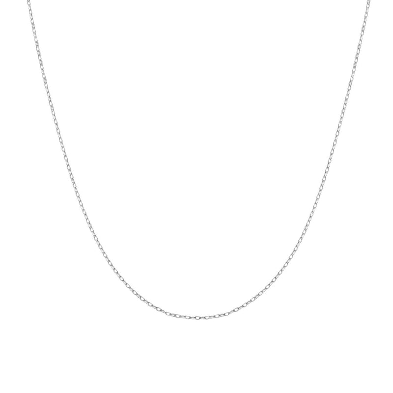 "1.3MM FLAT CABLE CHAIN 30"" NECKLACE - 3 Colors"