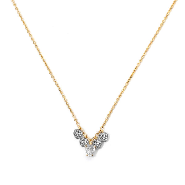SIRENA SMALL FRONTAL SHAKY NECKLACE