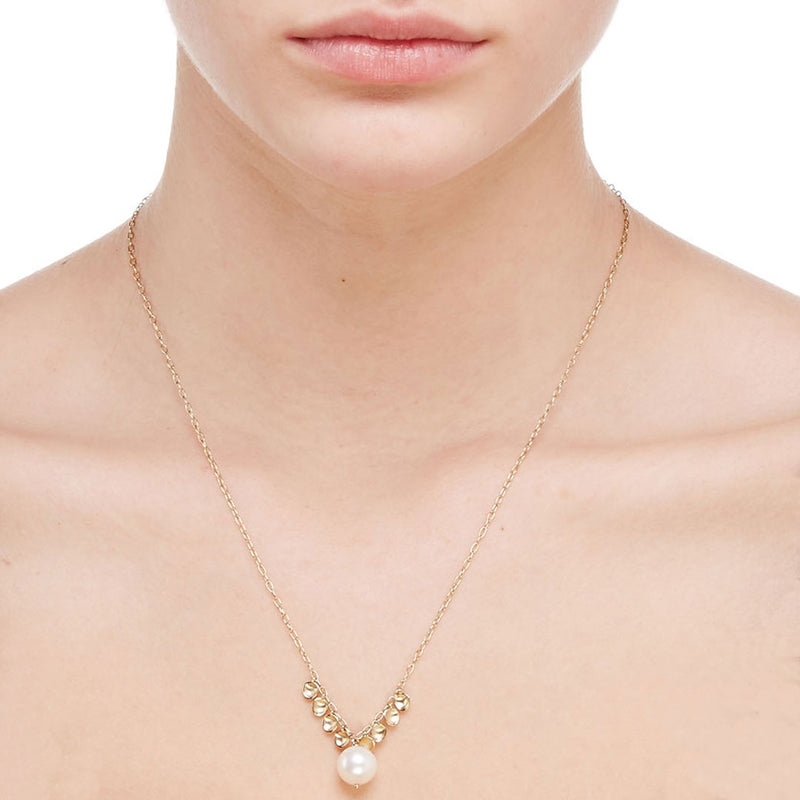 VENICE FRESHWATER PEARL FRONTAL NECKLACE
