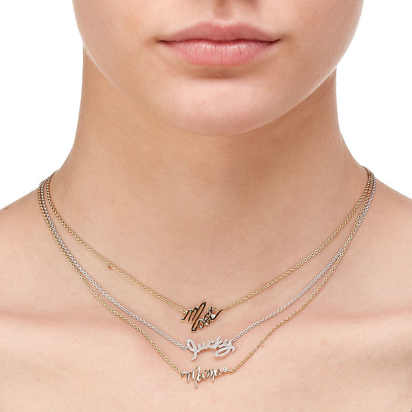 "TAGGED ""MAMA"" NECKLACE"