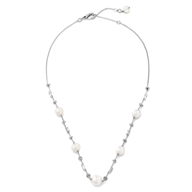 AUBREY BAROQUE PEARL FRONTAL NECKLACE