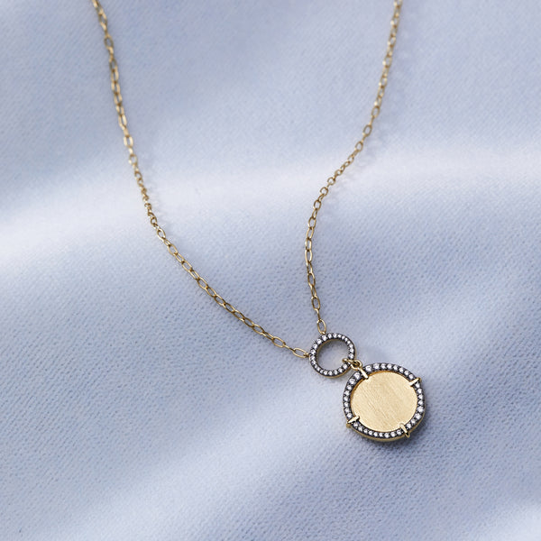 RAVENNA MEDALLION NECKLACE