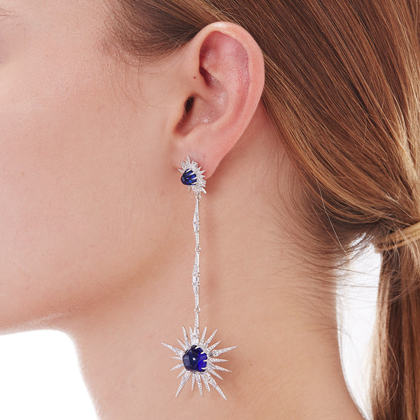 NOVA LONG PENDULUM EARRING
