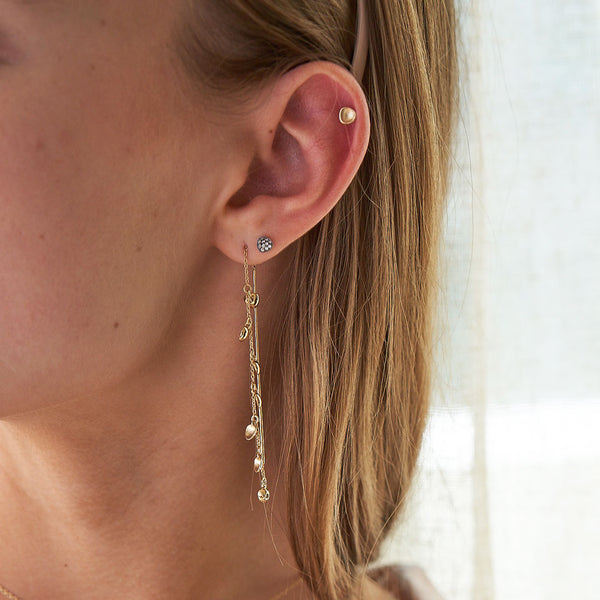 SIRENA SHAKY THREADER EARRINGS