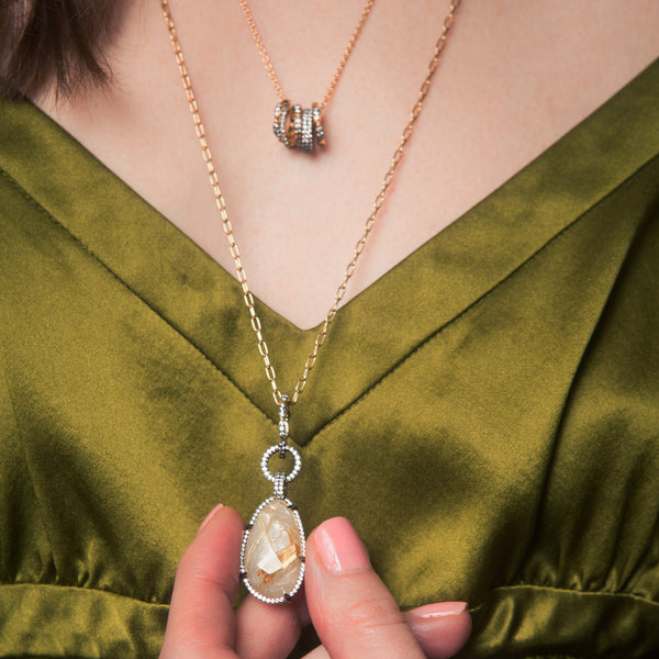 RAVENNA LONG PENDANT NECKLACE