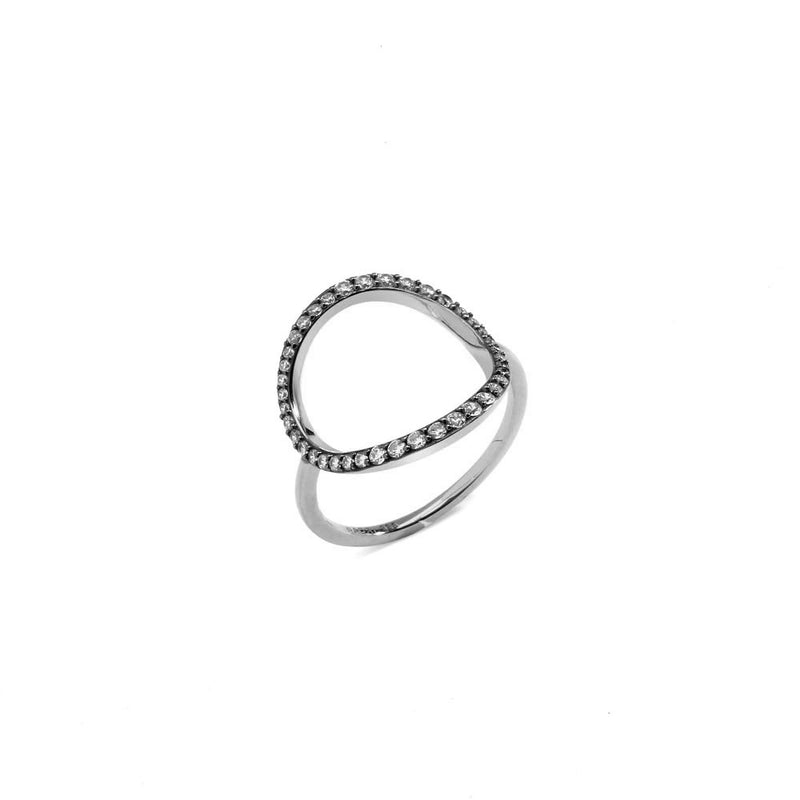 VILLA CZ OPEN CIRCLE RING