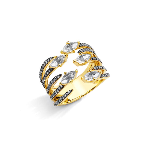 ADDA FAUX STACK RING