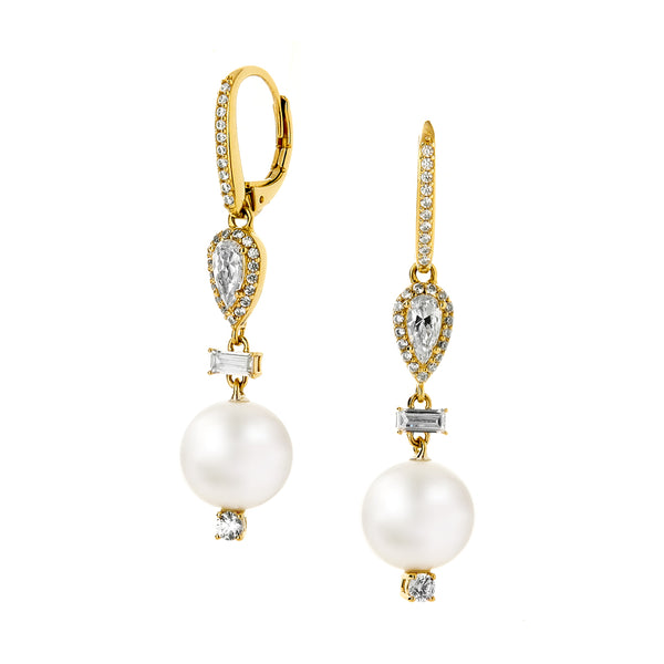 AUBREY PEARL DROP EARRINGS